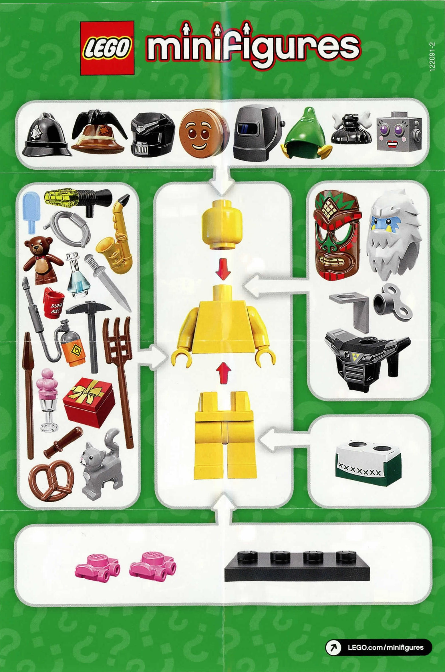 LEGO Series 11 Minifigures Choose Mini Figure or Random Mystery Bag 71002