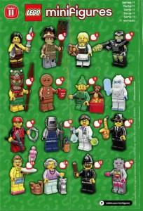 LEGO 71002 Minifigures Series 11 Revealed