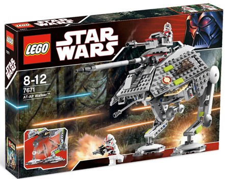 LEGO 7671 AT-AP Walker Set 2008 Revenge of the Sith