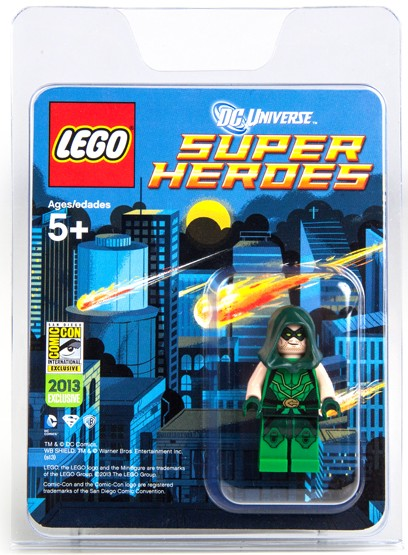 LEGO DC Super Heroes Green Arrow Minifigure SDCC 2013 Exclusive