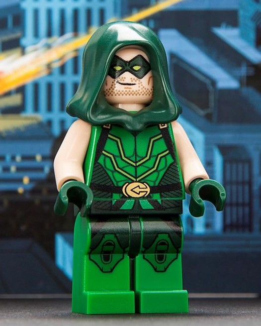 LEGO Green Arrow Minifigure SDCC Exclusive 2013 DC Superheroes