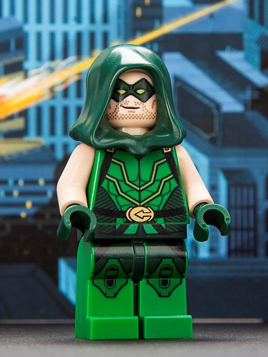 lego sdcc 2013 exclusives minifigures green arrow spider