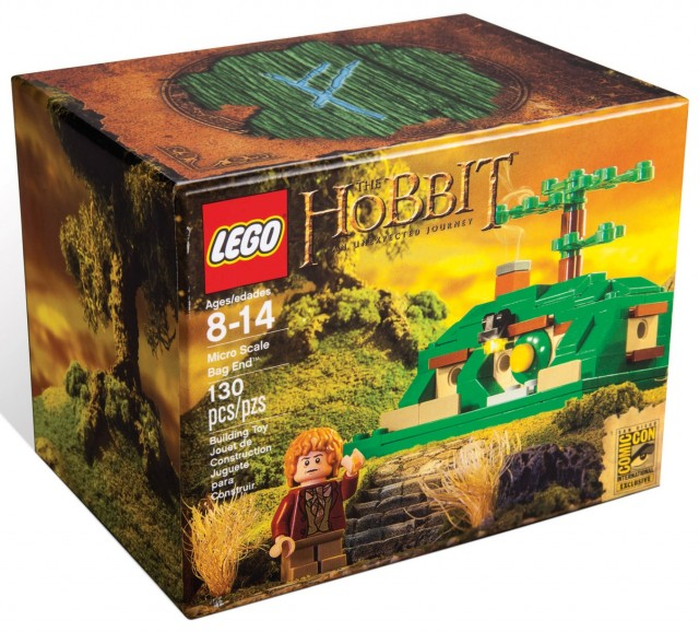 LEGO SDCC 2013 The Hobbit Micro Scale Bag End