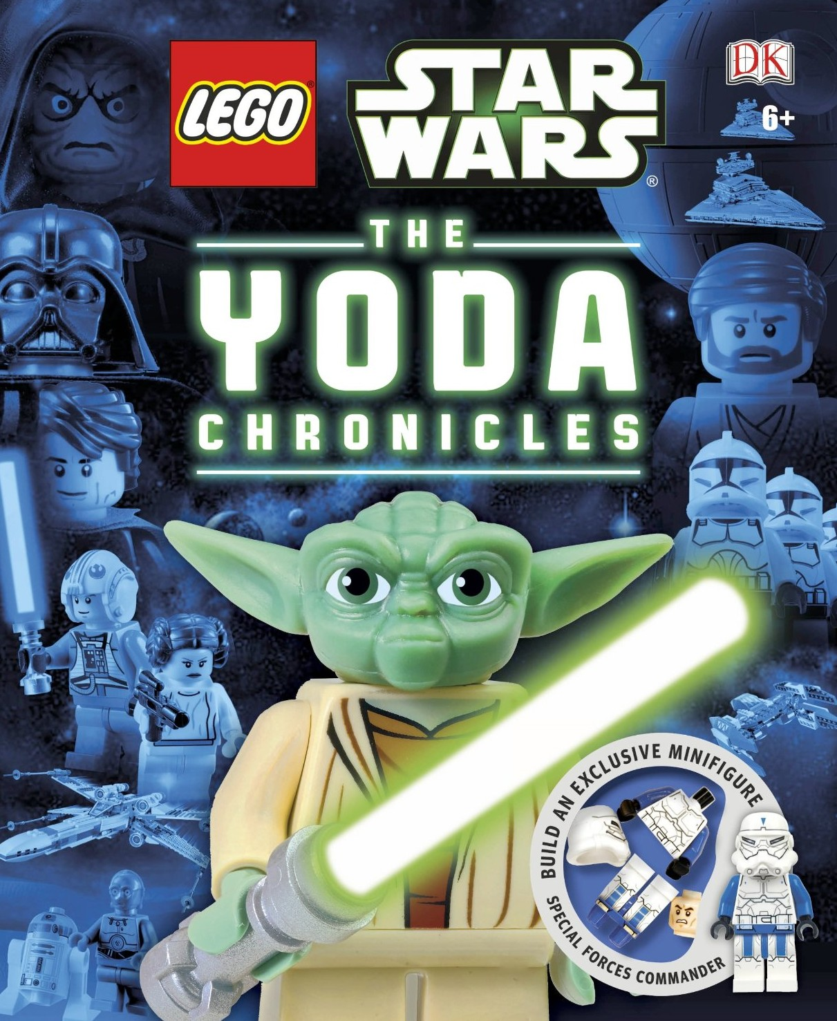 Lego Special Forces Commander Yoda Chronicle Exclusive Book Star Wars Minifigure