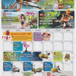 August 2013 LEGO Store Calendar Scans: Events, Giveaways & More!