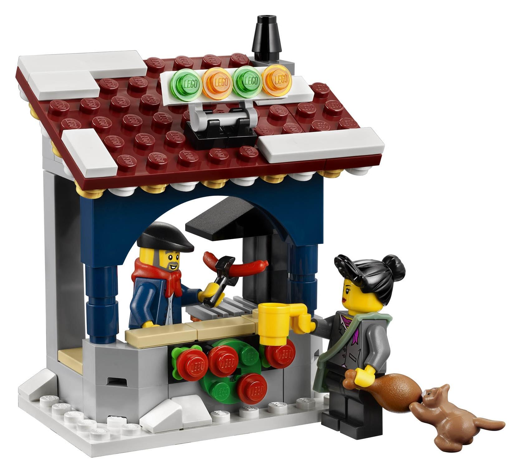 LEGO Winter Village Market 10235 Set Revealed & Photos