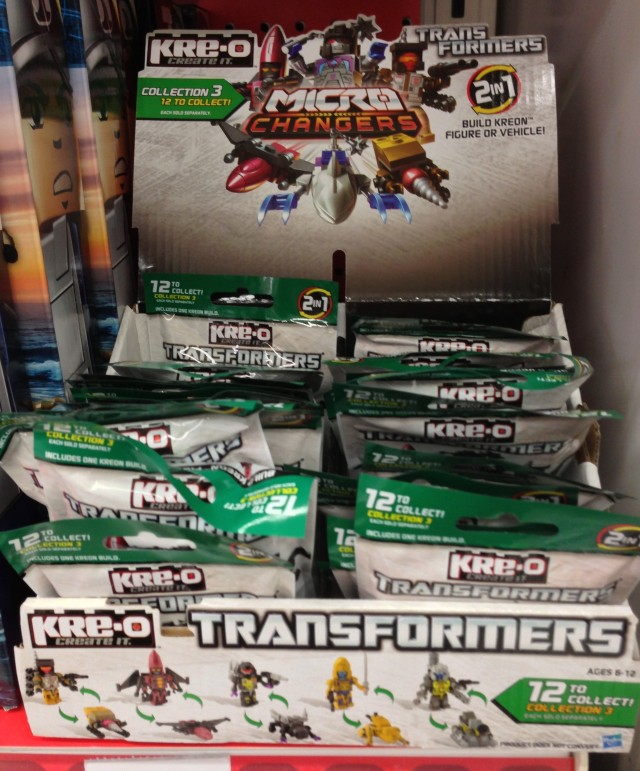 Transformers Kre-O Series 3 Micro-Changers Case