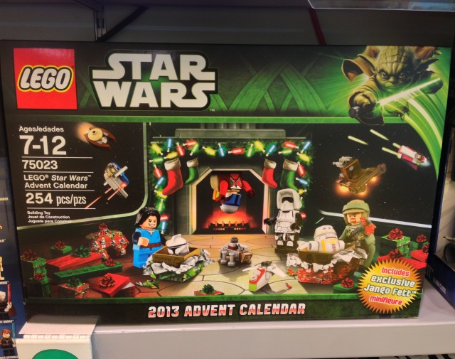 LEGO 75023 Star Wars 2013 Advent Calendar Released