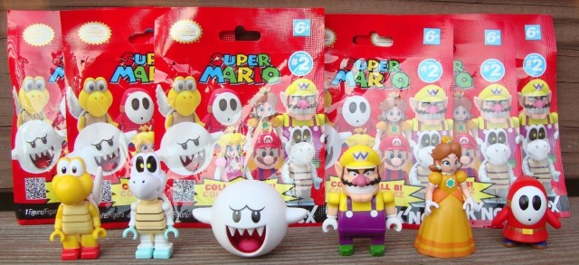 K'NEX Super Mario Series 2 Blind Bags Boo Wario Daisy Dry Bones Shy Guy Paratrooper