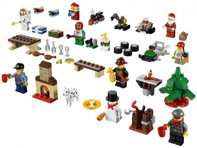 LEGO 60024 City Advent Calendar 2013 Set Contents