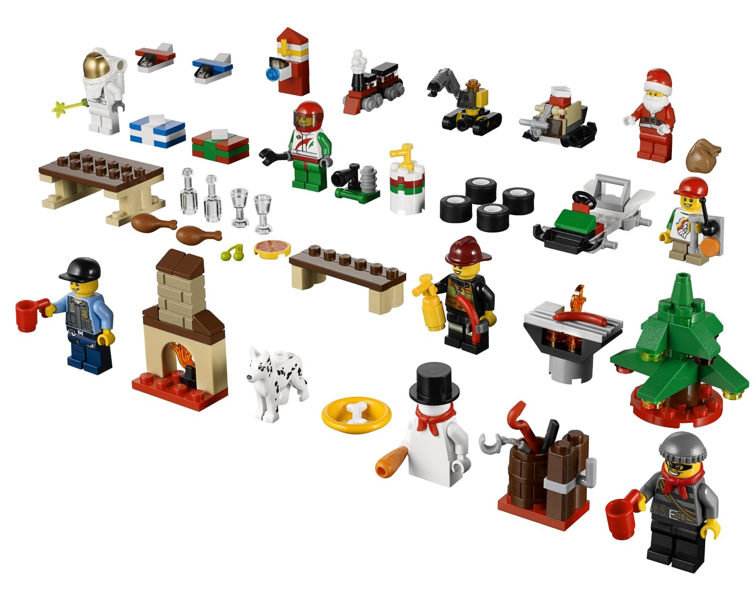 2013 LEGO City Advent Calendar 60024 Set Released in Stores! - Bricks ...
