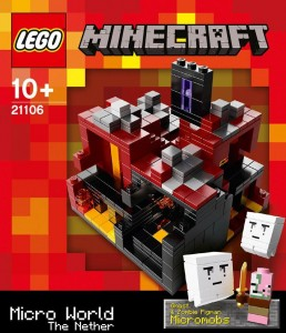 LEGO Minecraft 21106 Micro World The Nether Box Front