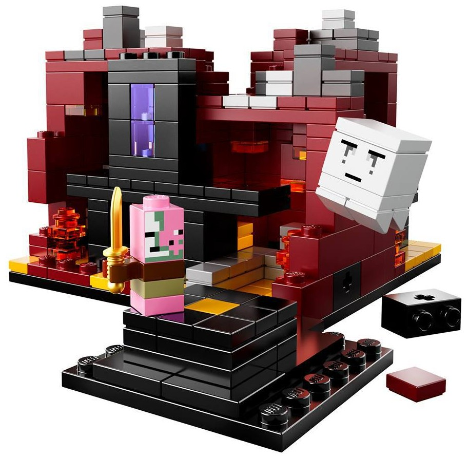 how to make a lego minecraft zombie