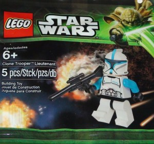 LEGO Star Wars Clone Trooper Lieutenant Minifigure Polybag Exclusive