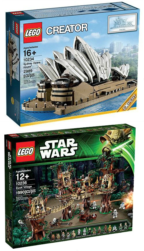 Lego sydney opera house and star wars ewok village sets e1376679690934