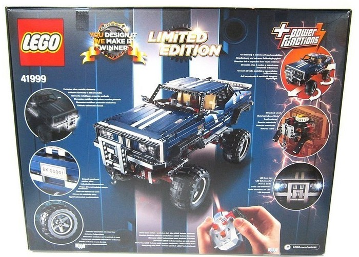 Lego Technic Building Instructions 4x4 Crawler Exclusive Edition 41999
