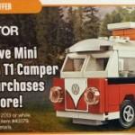 LEGO Mini Volkswagen T1 Camper Van 40079 Free Promo Polybag 9/2013!
