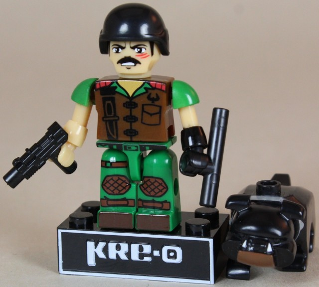 G.I. Joe Kreo Series 2 Mutt and Junkyard Dog Figures