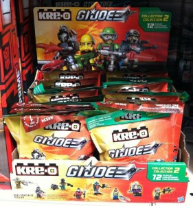 GI Joe Kre-O Series 2 Blind Bags Case Codes