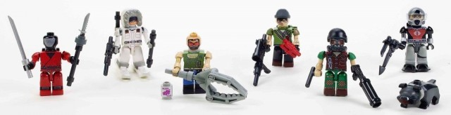 Kre-O GI Joe Wave 2 Figures Tunnel Rat Snow Job Eels Mutt Junkyard