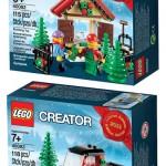 LEGO 2013 Holiday Sets Revealed & Photos! LEGO 40082 & 40083