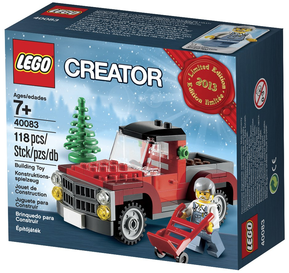 LEGO-40083-Box-Holiday-Set-Pickup-Truck-