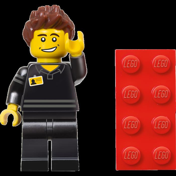 LEGO Store Employee Minifigure 5001622 Polybag Set Revealed ...