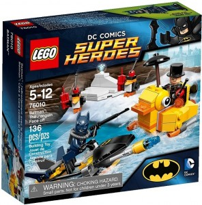 2014 LEGO Batman The Penguin Face Off 76010 Box