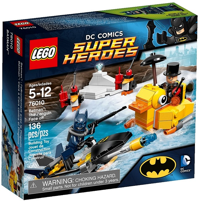2014 LEGO Batman The Penguin Face Off 76010 Revealed ...