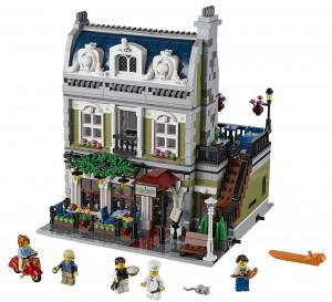 2014 LEGO Creator Expert Parisian Restaurant Modular Building Set 10243