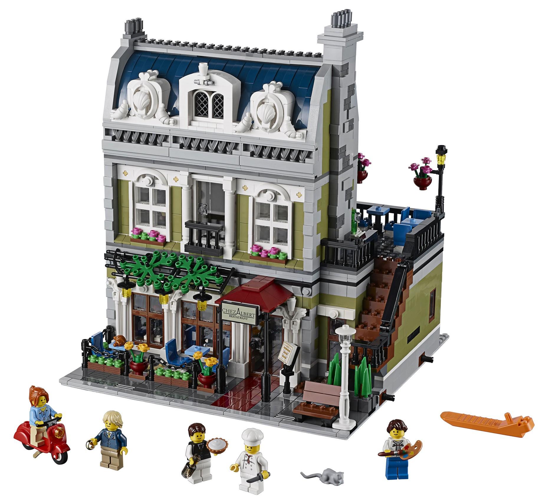 2014 lego parisian restaurant 10243 modular building photo preview bricks and bloks. Black Bedroom Furniture Sets. Home Design Ideas