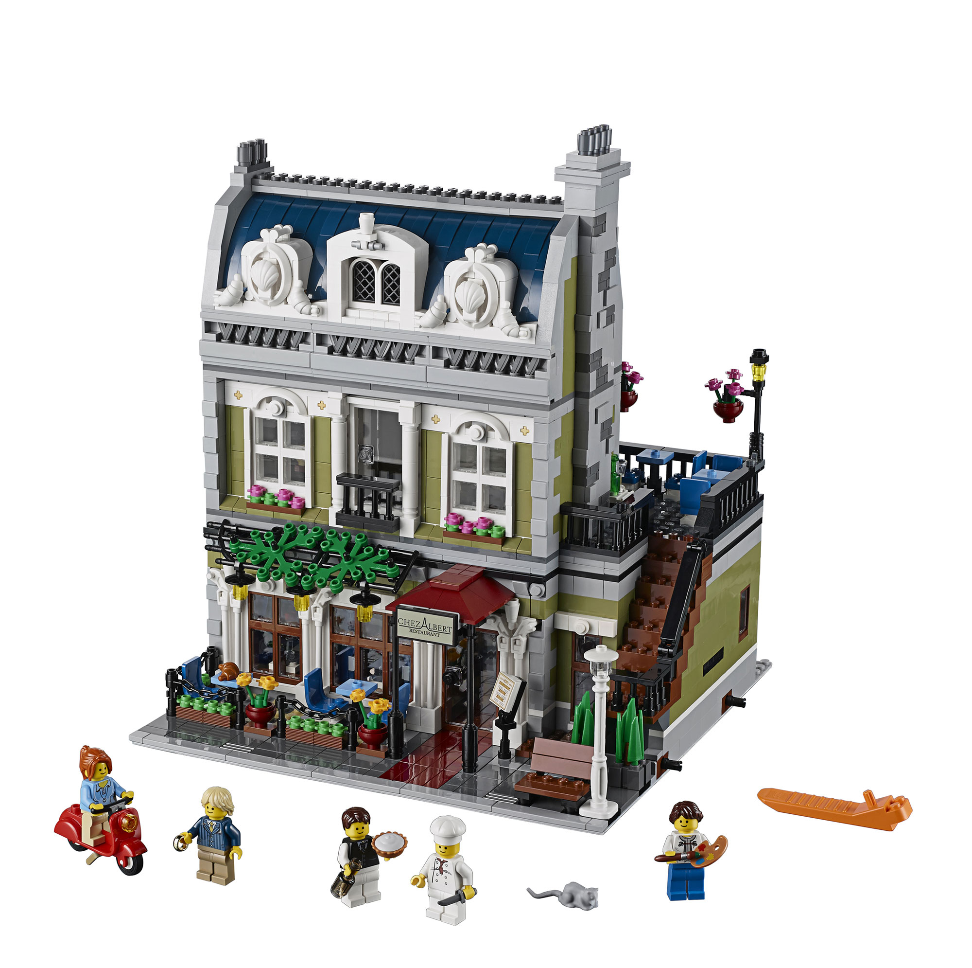 2014 lego parisian restaurant 10243 modular building photo - Modele construction maison lego ...