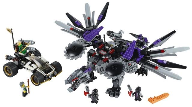 2014 LEGO Ninjago Nindroid MechDragon 70705