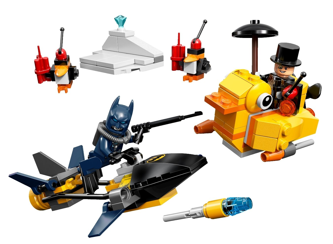 of the set, are you in for one of the more off-beat LEGO Batman sets