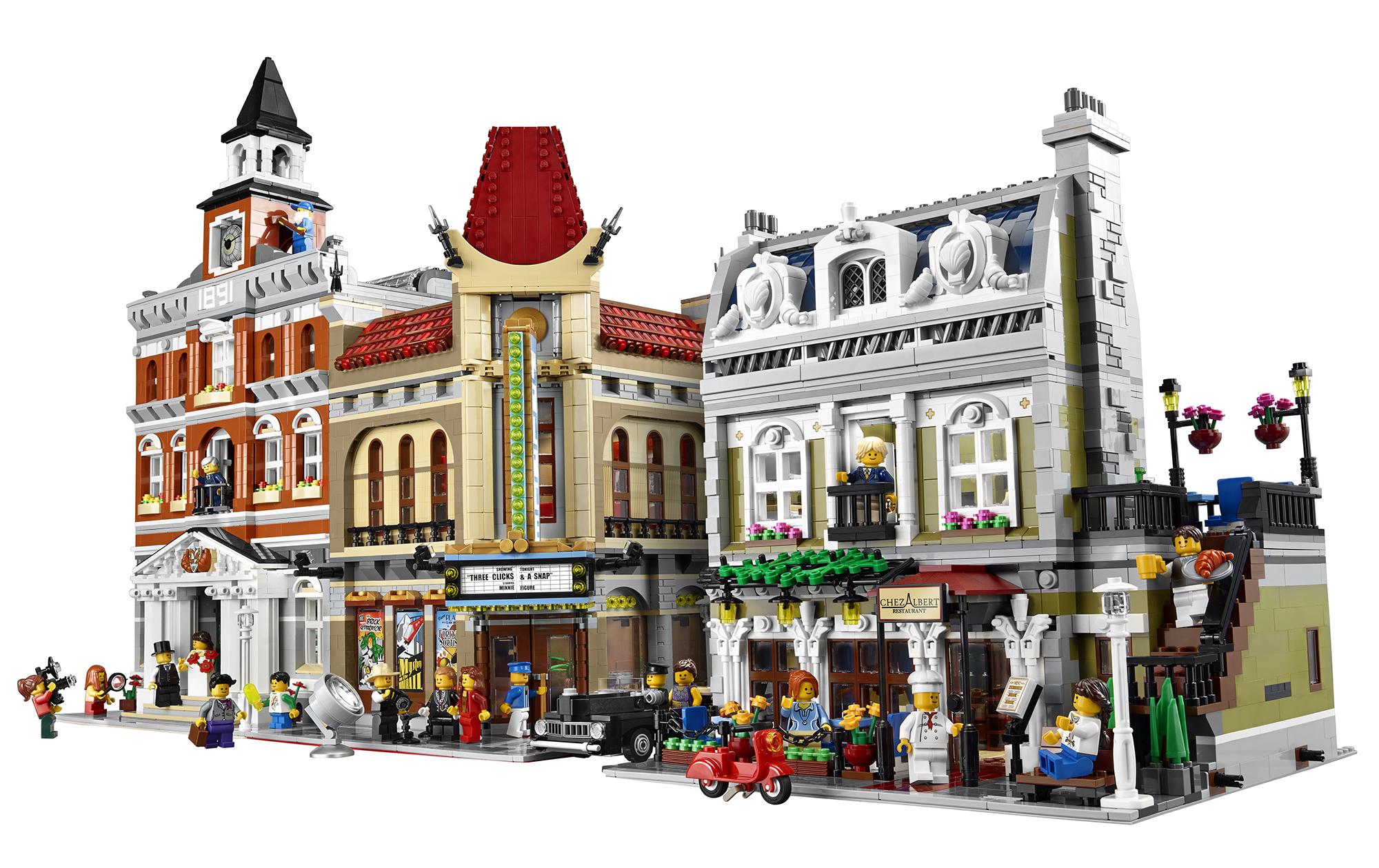 Lego Headquarters 2014 Lego Parisian Restaurant 10243 Modular Building Photo