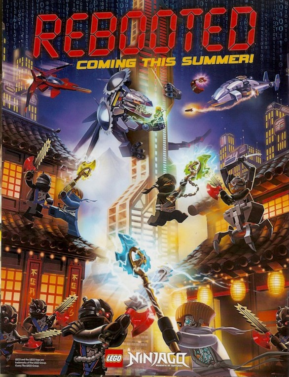 LEGO Ninjago 2014 Promotional Poster Artwork