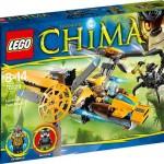 LEGO Chima 2014 Lavertus' Twin Blade 70129 Set Photos & Preview