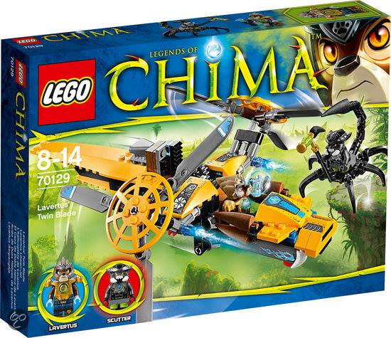 2014 LEGO Chima Lavertus Twin Blade 70129 Box