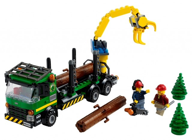 2014 LEGO City 60059 Logging Truck Set