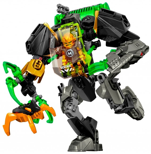 2014 LEGO Hero Factory Rocka Stealth Set 44019