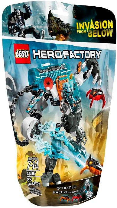 2014 LEGO Hero Factory Stormer Freeze Machine 44017 Package