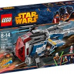 LEGO Star Wars 2014 Coruscant Police Gunship Revealed & Photos!