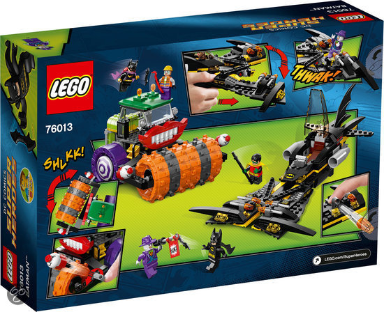 Lego Batman Sets 2014: LEGO Batman 2014 The Joker Steam Roller 76013 Revealed
