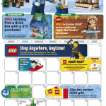 LEGO Store Calendar December 2013: Promos, Events & Photos!
