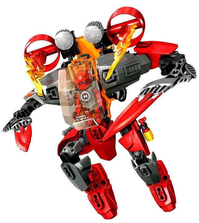 LEGO 2014 Hero Factory Furno Jet Machine 44018 Set