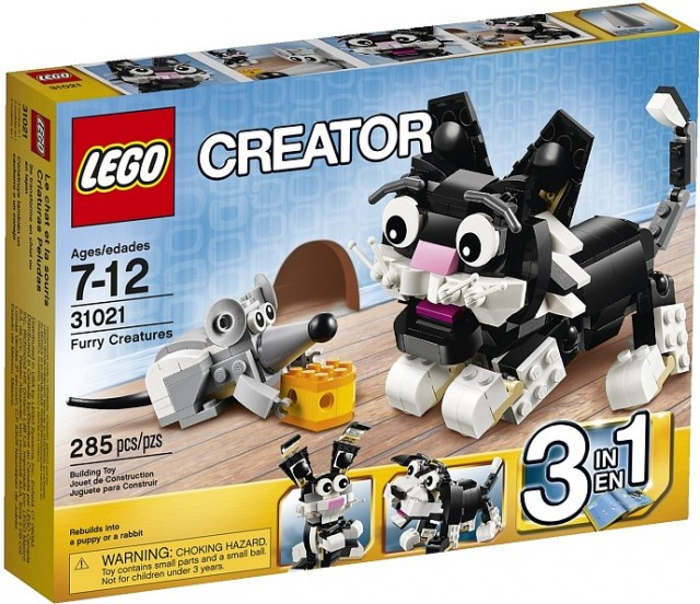 LEGO 31021 Creator Furry Creatures Box Winter 2014 Sets