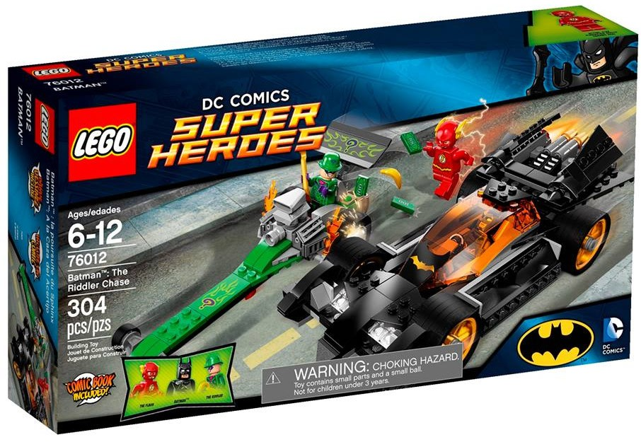LEGO Batman 2014 The Riddler Chase 76012 Set Photos ...