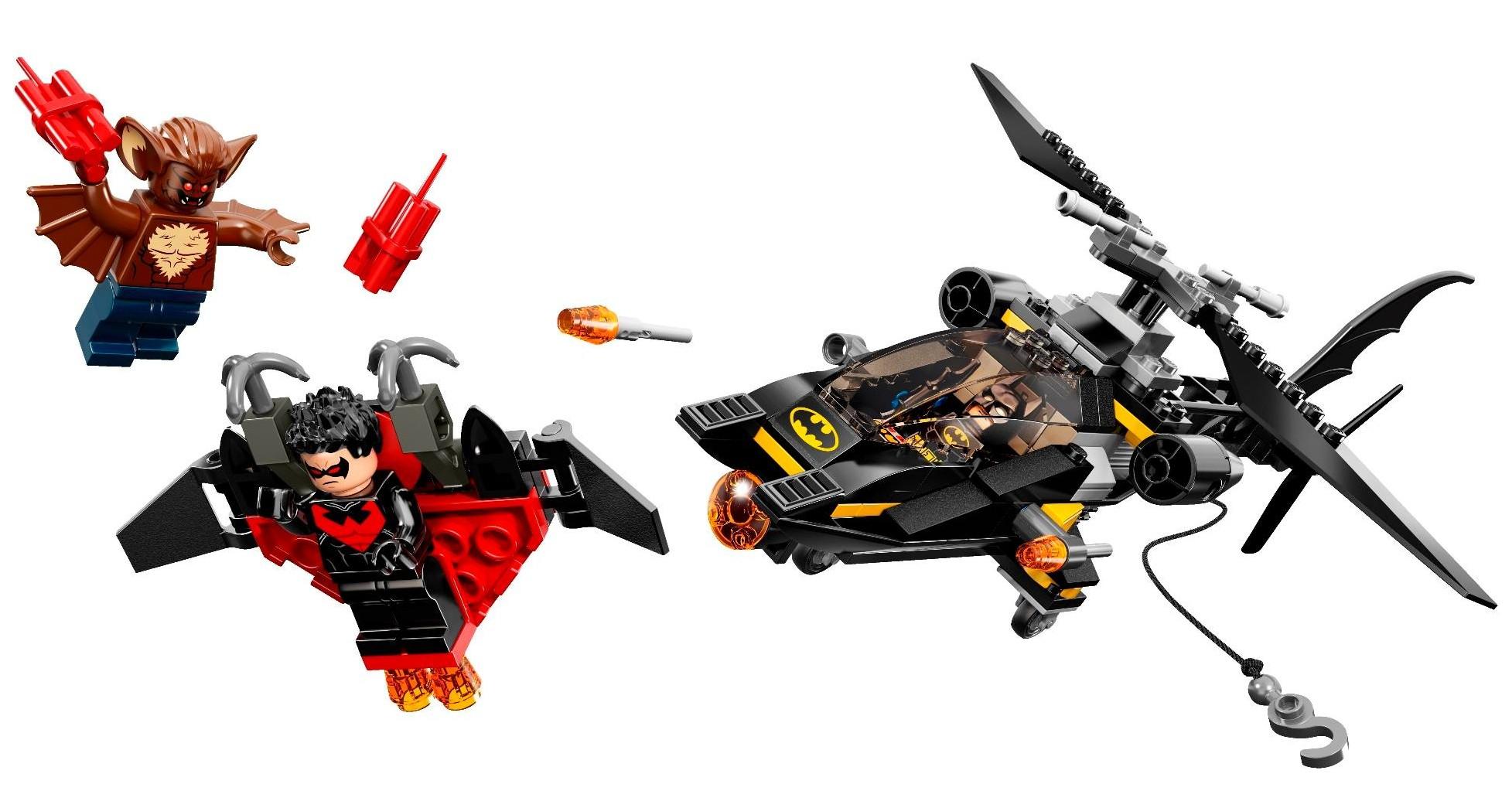 Lego Batman Sets 2014: LEGO Batman 2014 Man-Bat Attack 76011 Winter Set Photos