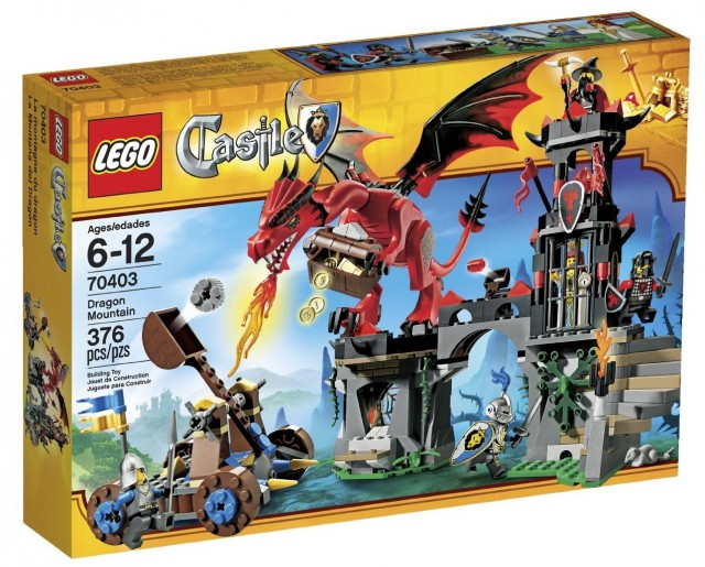 LEGO Castle Dragon Mountain 70403 Set on Sale