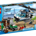 2014 LEGO City Helicopter Surveillance 60046 Set Photos & Preview!